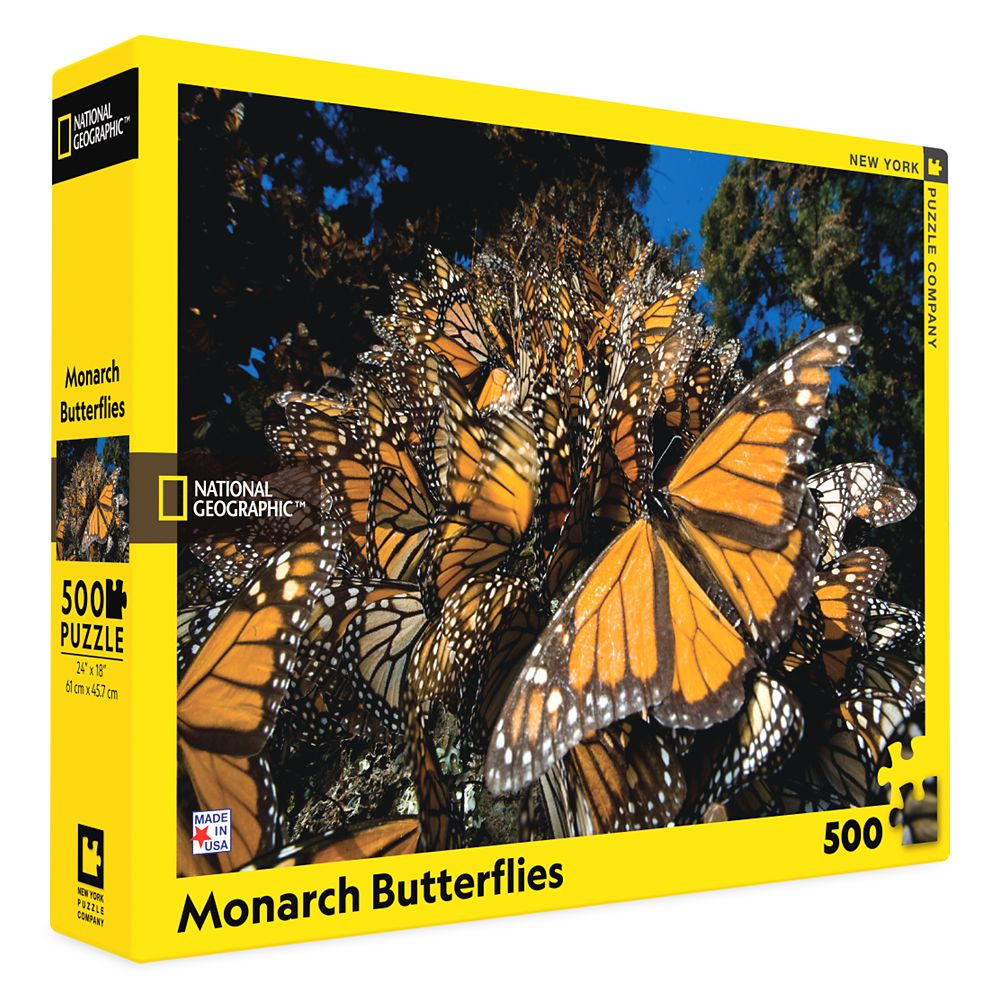 Monarch Butterflies Puzzle –National Geographic