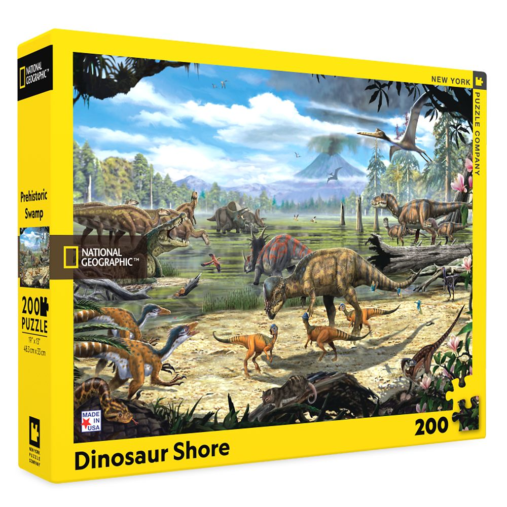 Dinosaur Shore Puzzle – National Geographic