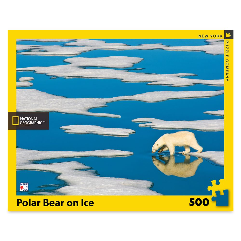 Polar Bear on Ice Puzzle – National Geographic