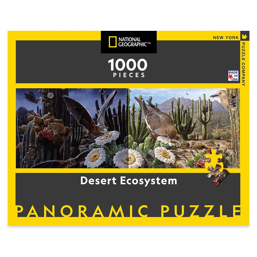 Desert Ecosystem Puzzle – National Geographic