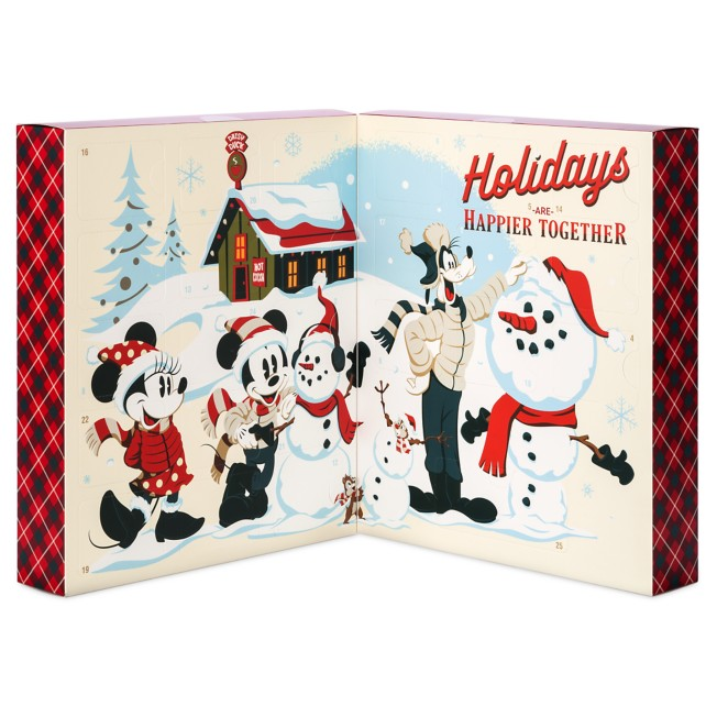 Mickey Mouse and Friends Puzzle Advent Calendar