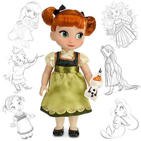 Disney Animators' Collection Anna Doll - Frozen - 16 ...