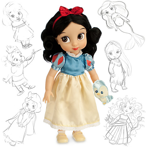 disney animators 39 collection snow white doll 16 39 39 disney store. Black Bedroom Furniture Sets. Home Design Ideas