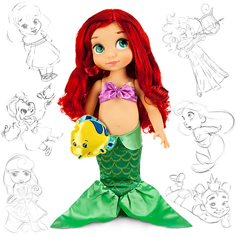 disney animators 39 collection ariel doll 16 39 39 disney store. Black Bedroom Furniture Sets. Home Design Ideas