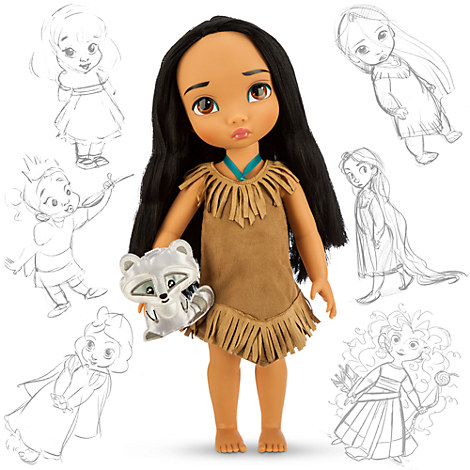 disney animators 39 collection pocahontas doll 16 39 39 disney store. Black Bedroom Furniture Sets. Home Design Ideas