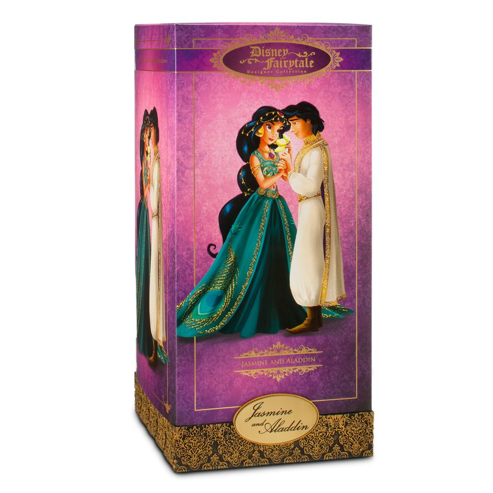 Jasmine and Aladdin Doll Set – Disney Fairytale Designer Collection