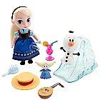 Disney Animators' Collection Elsa Mini Doll Play Set - 5''