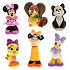 Minnie Mouse and Friends Bath Toy Set for Baby