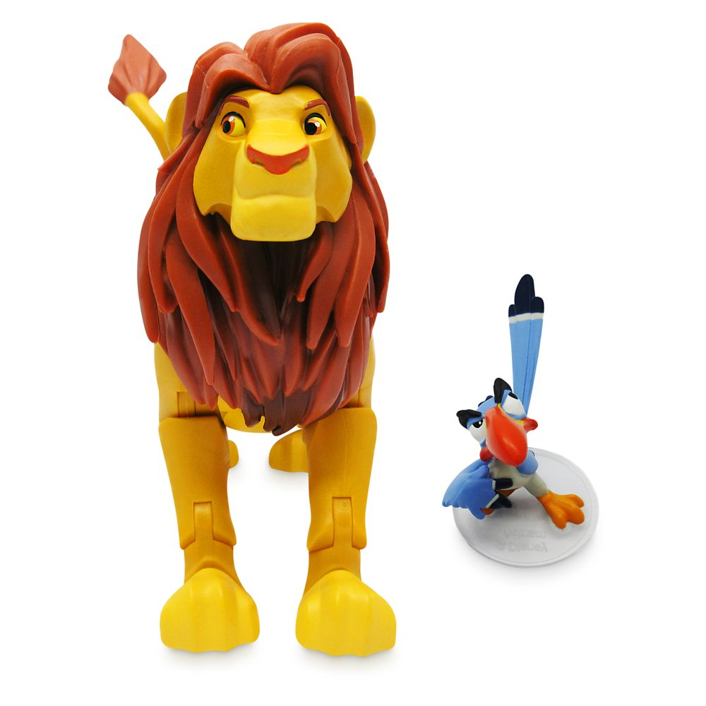 Simba Action Figure with Zazu – Disney Toybox