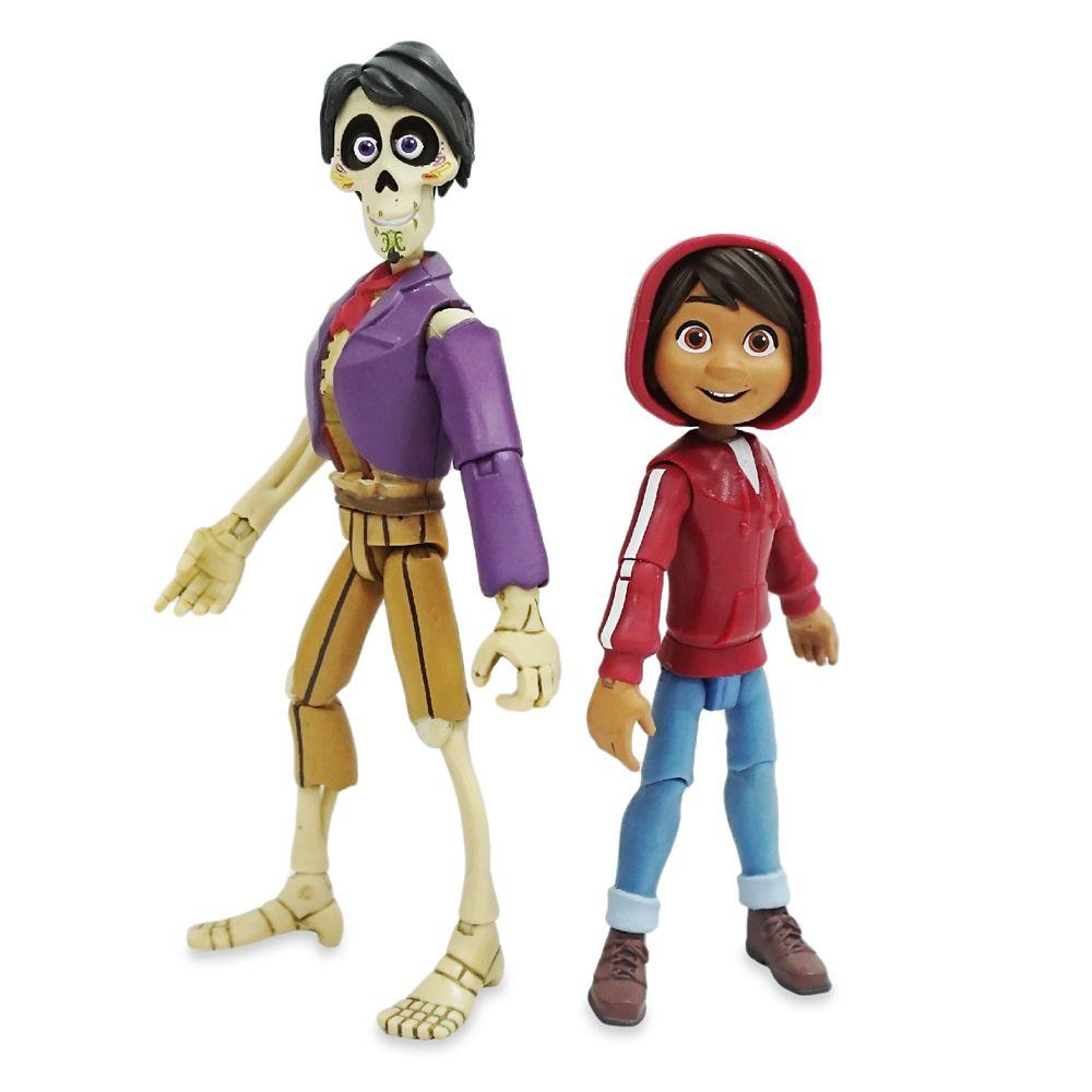 Miguel&Hector Action Figure Set – Coco – Pixar Toybox