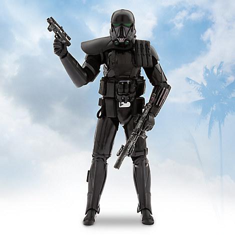 Star Wars Elite Series Imperial Death Trooper Premium Action Figure - 10''