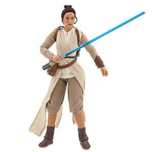 Star Wars Elite Series Rey Premium Action Figure - 10'' - Star Wars: The Force Awakens 6101040902003P