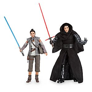 Kylo Ren and Rey Star Wars Elite Series Action Figure Set - Limited Edition 6101040902226P