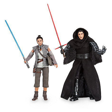 Kylo Ren and Rey Star Wars Elite Series Action Figure Set - Limited Edition