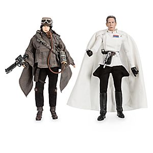 Jyn Erso and Director Krennic Star Wars Elite Series Action Figure Set – Limited Edition
