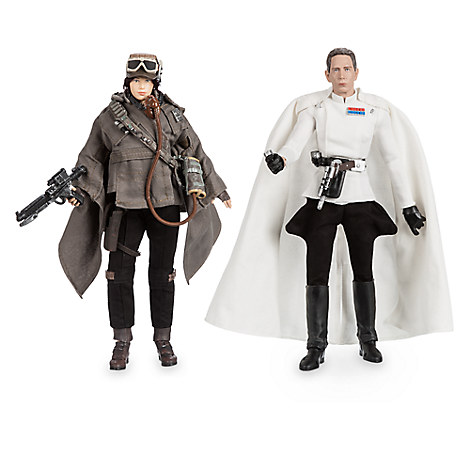 Jyn Erso and Director Krennic Star Wars Elite Series Action Figure Set - Limited Edition