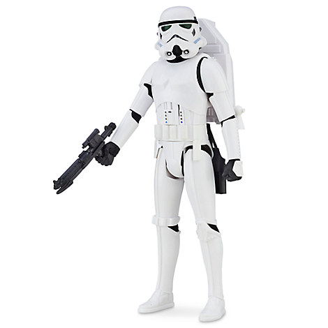 Stormtrooper Interactech Action Figure - Rogue One: A Star Wars Story