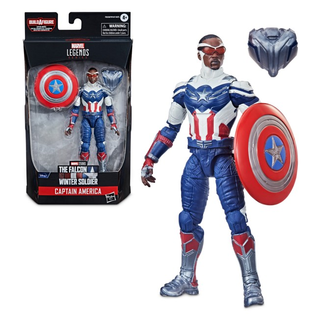 Captain America Action Figure – The Falcon and the Winter Soldier – Marvel Legends
