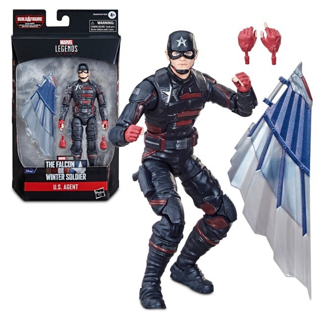 U.S. Agent Action Figure – The Falcon and the Winter Soldier – Marvel Legends