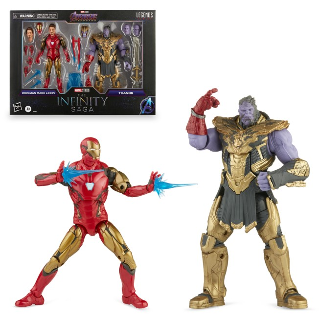 Iron Man Mark LXXXV and Thanos Action Figure Set by Hasbro – Legends Series – The Infinity Saga