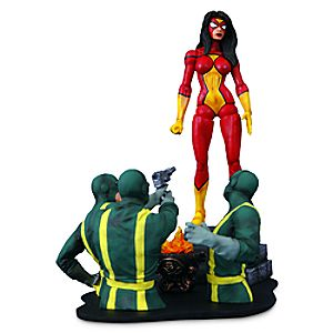 Spider-Woman Action Figure - Marvel Select - 7'' 3061047450128P