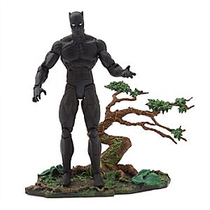 Black Panther Action Figure - Marvel Select - 7'' 6101047450281P