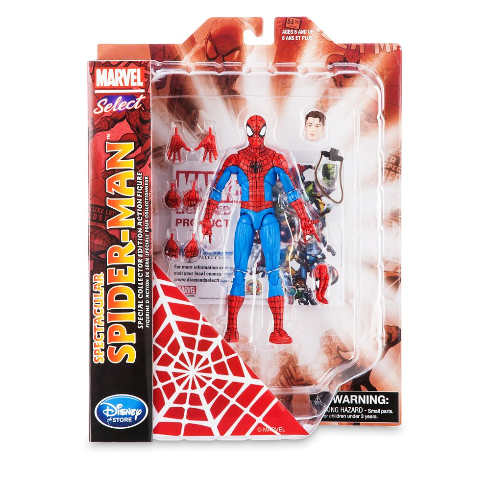 Spider-Man Action Figure – Marvel Select – 7''