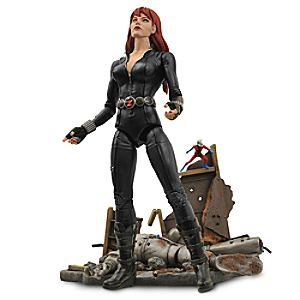 Black Widow Action Figure - Marvel Select - 6 3/4'' 6101047450294P