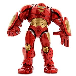 Disney Store Iron Man Hulkbuster Action Figure  -  Marvel Select  -  8''