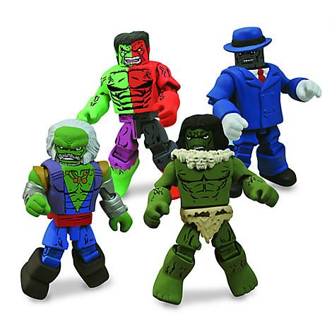 Marvel Hulk Minimates Set