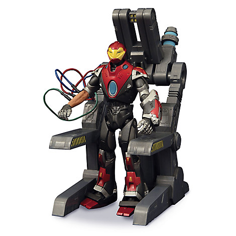 Ultimate Iron Man Action Figure - Marvel Select - 7''