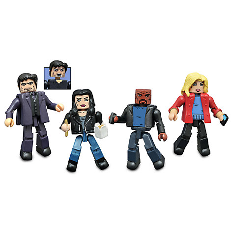 Marvel Jessica Jones Minimates Set