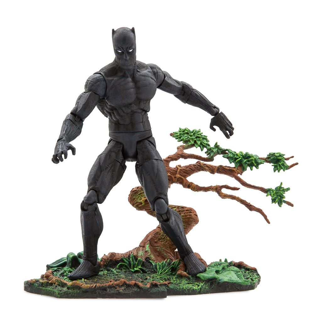 35 Amazing Marvel Gift Ideas featured by top US Disney blogger, Marcie and the Mouse: Black Panther Action Figure by Marvel Select 7'' Official shopDisney