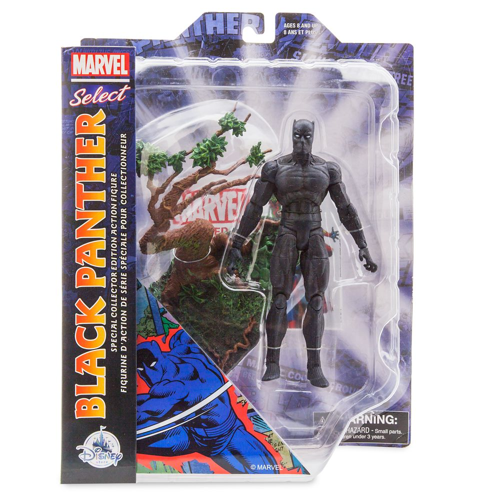 Black Panther Action Figure – Marvel Select by Diamond – 7''