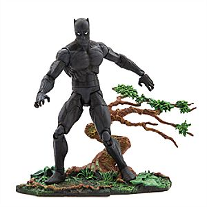 Black Panther Action Figure by Marvel Select - 7'' 6101047452479P