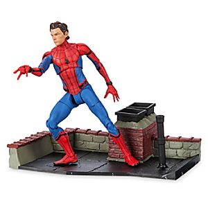 Spider-Man Action Figure - Marvel Select - Spider-Man: Homecoming - 7'' 6101047452538P