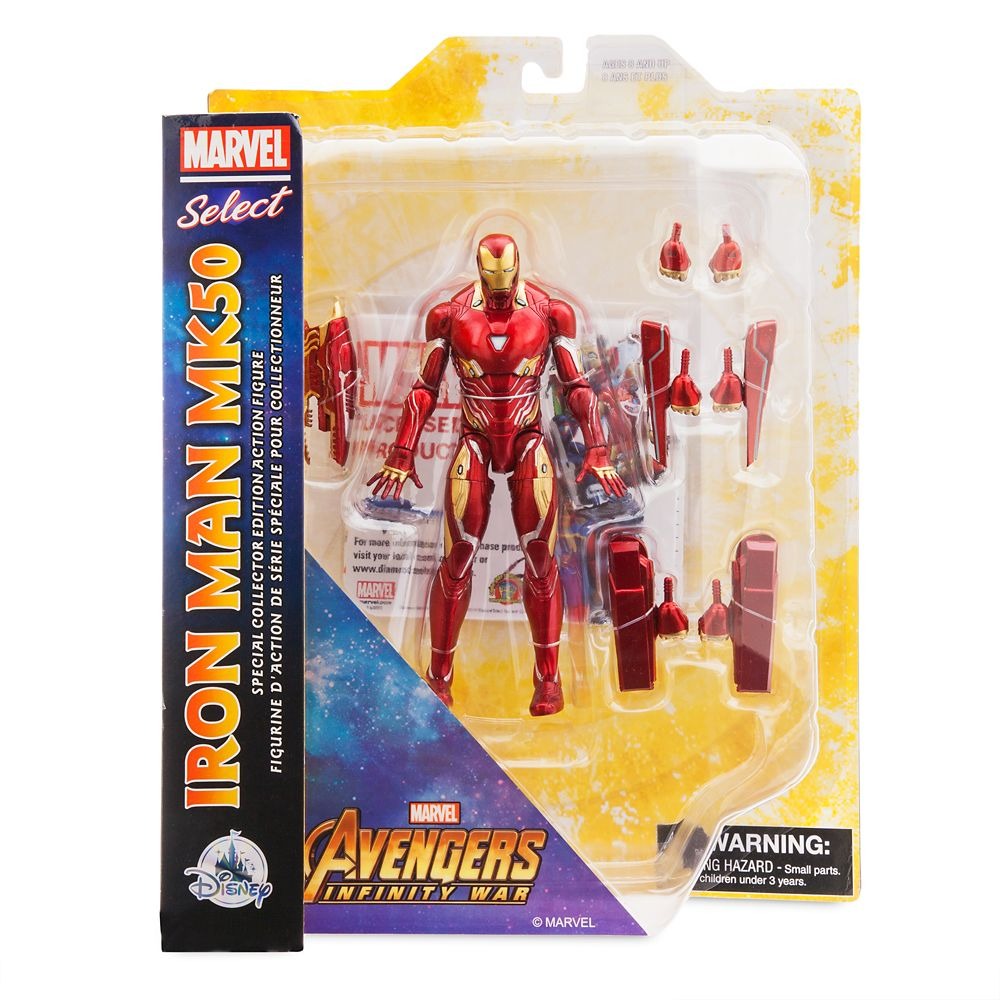 Iron Man Collector Edition Action Figure – Marvel Select by Diamond – 7''