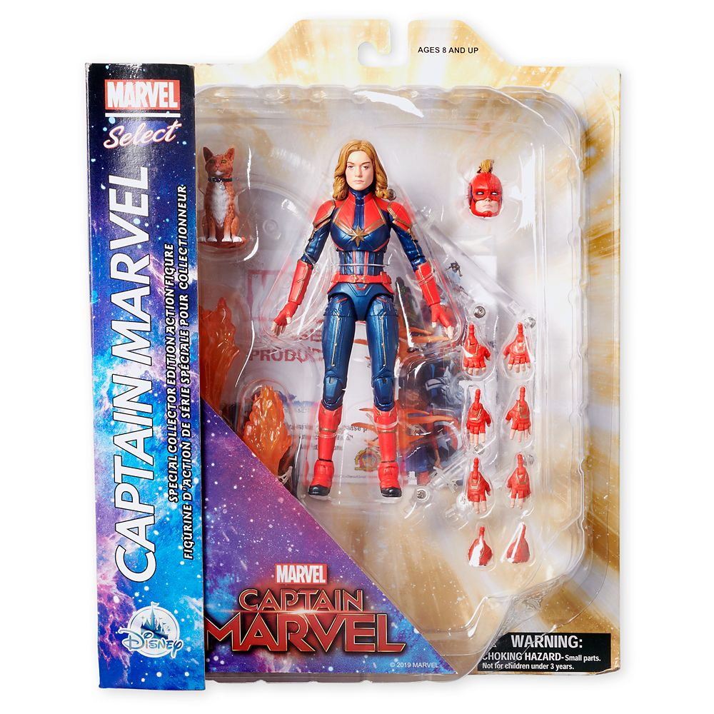 Marvel's Captain Marvel Collector Edition Action Figure – Marvel Select by Diamond – 7''
