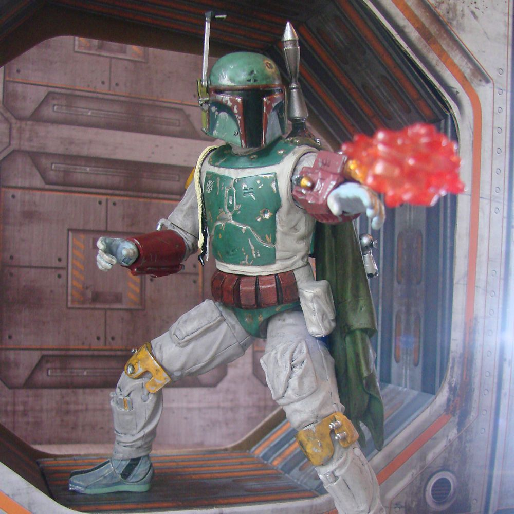 Boba Fett Collector's Edition Action Figure by Diamond Select – Star Wars – 7''