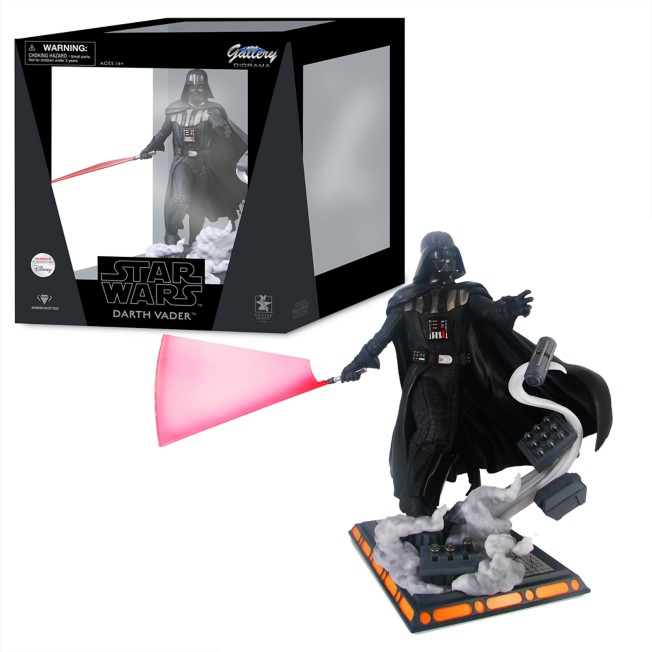 Darth Vader Diamond Gallery Diorama by Diamond – Star Wars