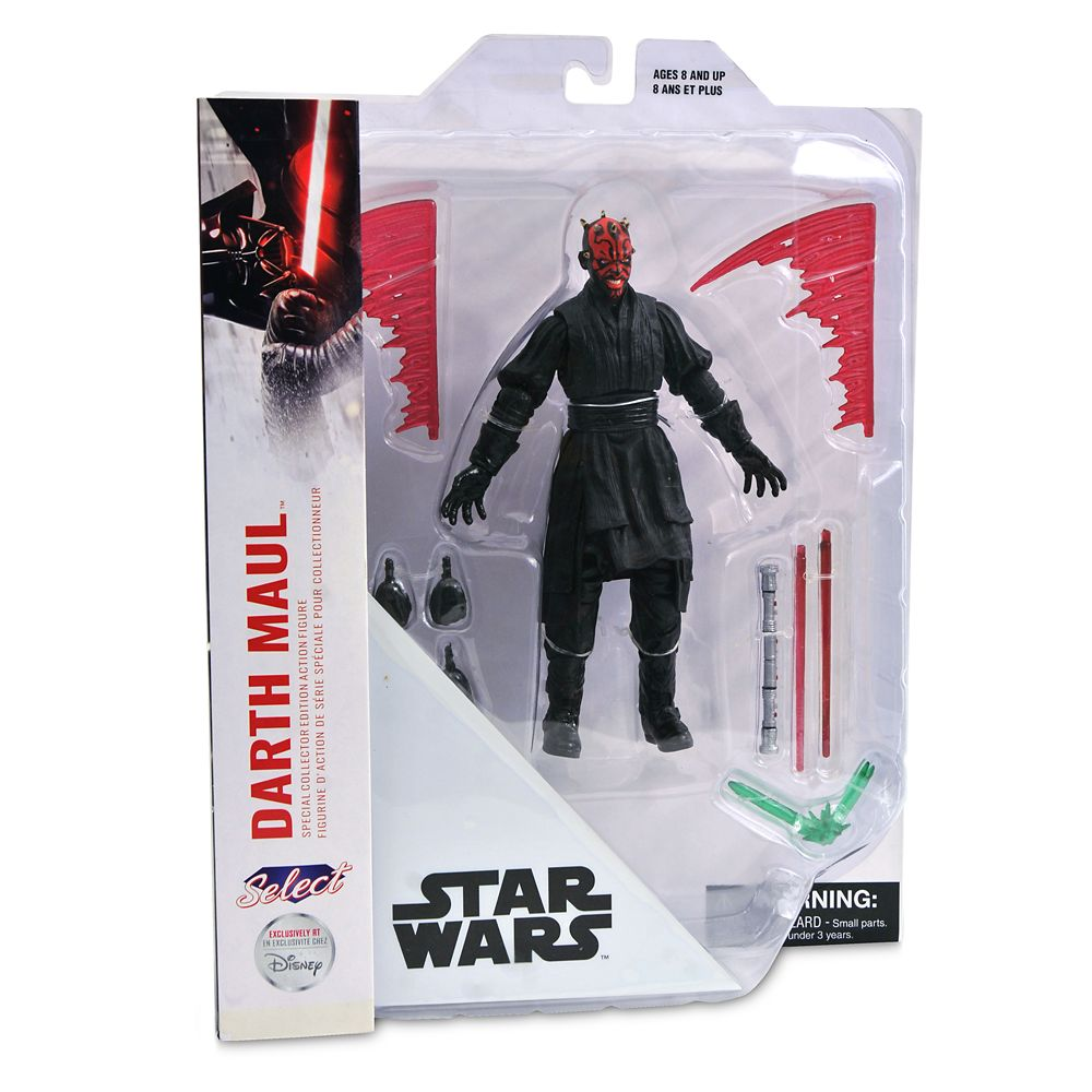 Darth Maul Collector's Edition Action Figure by Diamond Select – Star Wars – 7''