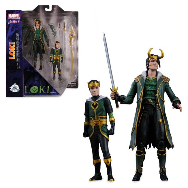Loki Special Collector Edition Action Figure Set – Marvel Select by Diamond