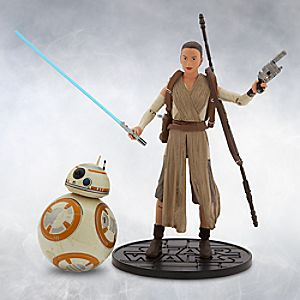 Rey and BB-8 Elite Series Die Cast Action Figures - 6'' - Star Wars: The Force Awakens 6101047620299P