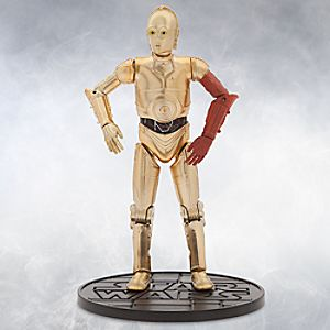 C-3PO Elite Series Die Cast Action Figure - 6 1/2'' - Star Wars: The Force Awakens 6101047620373P