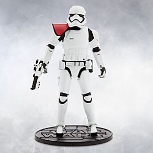 First Order Stormtrooper Officer Elite Series Die Cast Action Figure - 6 1/2'' - Star Wars: The Force Awakens 6101047620492P