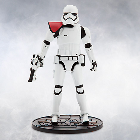 First Order Stormtrooper Officer Elite Series Die Cast Action Figure - 6 1/2'' - Star Wars: The Force Awakens