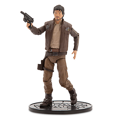 Captain Cassian Andor Elite Series Die Cast Action Figure - 6 1/2'' - Rogue One: A Star Wars Story