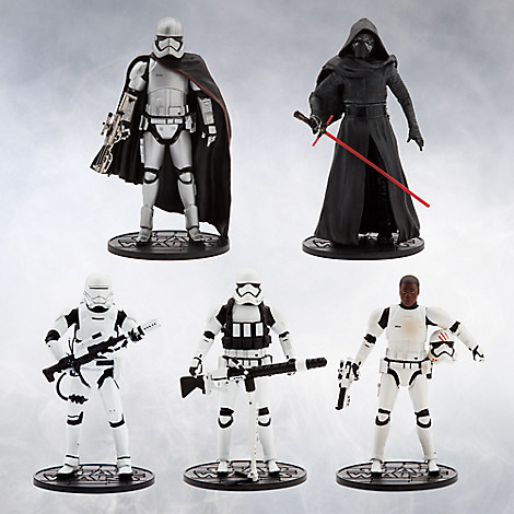 Star Wars: The Force Awakens Deluxe Die Cast Action Figure Gift Set
