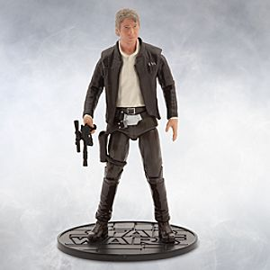 Han Solo Elite Series Die Cast Action Figure - 6 1/2'' - Star Wars: The Force Awakens 6101047620518P