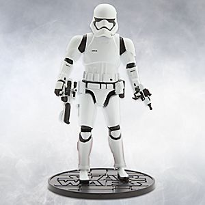 First Order Stormtrooper Elite Series Die Cast Action Figure - 6 1/2'' - Star Wars: The Force Awakens 6101047621779P